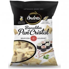 Bocaditos de pan cristal Andrés 130 g.