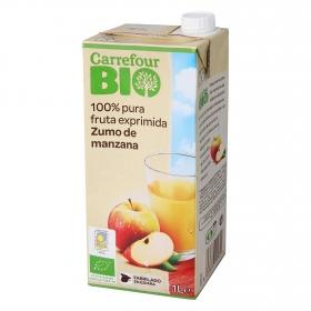 Zumo de manzana ecológico Carrefour Bio brik 1 l.