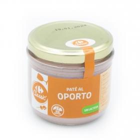 Paté al Oporto Carrefour sin gluten y sin lactosa 160 g.