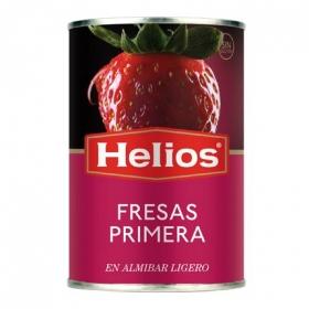 Fresas en almíbar ligero Helios 150 g.