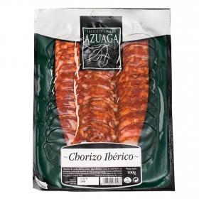 Lonchas Chorizo Ibérico Azuaga 100 g.