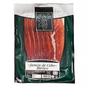Jamón Ibérico en lonchas Azuaga 100 g.