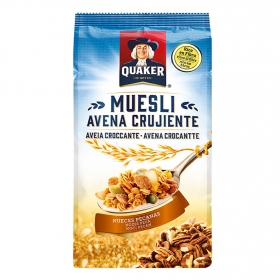 Cereales de avena con nueces Muesli Quaker 350 g.