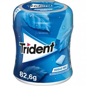 Chicles sabor menta Trident 82,6 g.
