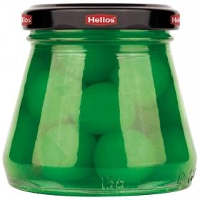 Cerezas verdes en almíbar Helios 90 g.