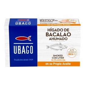 Hígado de bacalao en su propio aceite Ubago 100 g.