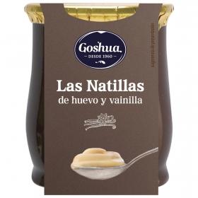 Natillas de huevo Goshua 140 g.