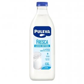 Leche entera fresca Puleva botella 1,5 l.