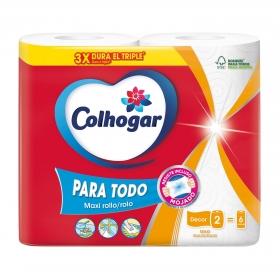 Papel de cocina Mega XXL Colhogar 2 rollos.