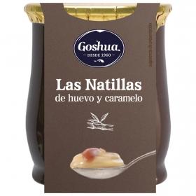 Natillas de huevo y caramelo Goshua 140 g.
