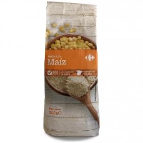 Harina de maíz Carrefour 500 g.