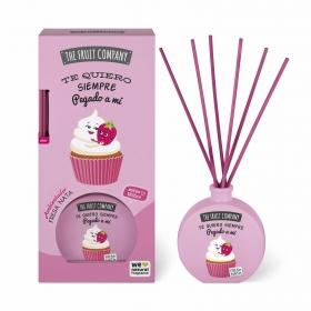 Ambientador fresa y nata The fruit company 40 ml.
