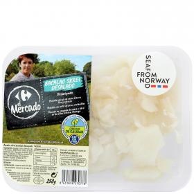 Bacalao desalado desmigado Skrei, Carrefour Calidad y Origen 250 g