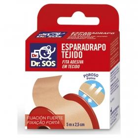 Esparadrapo Tejido piel 5mx2,5 cm Dr. Sos 1 ud.