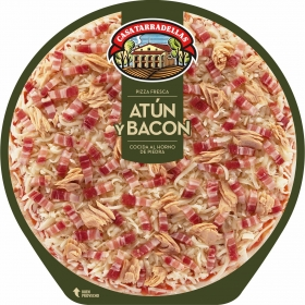 Pizza de atún y bacon Casa Tarradellas 405 g.