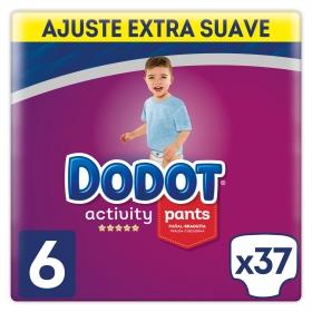 Pañales braguita Pants Dodot Activity T6 (15+ kg) 37 ud.