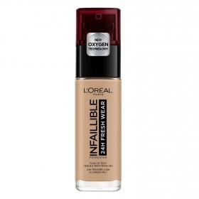 Base de maquillaje nº 220 Infalible 24H Fresh Wear L'Oreal 1 ud.