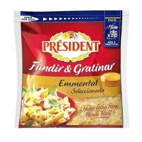 Queso rallado emmental Especial pastas Président 150 g.