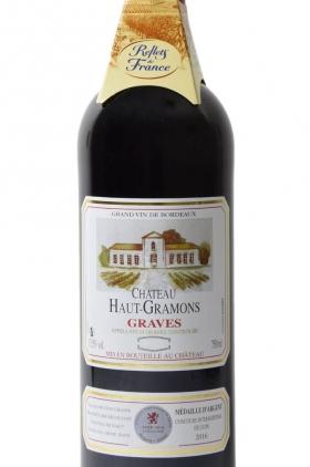 Chateau Haut-Gramons Tinto 2015