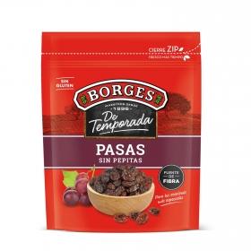 Pasas sin pepitas Borges 250 g.