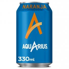 Bebida Isotónica Aquarius sabor naranja lata 33 cl.