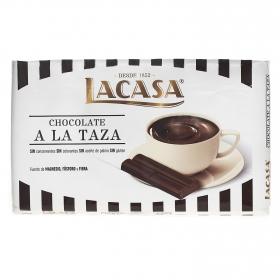 Chocolate a la taza en onzas Lacasa 300 g.