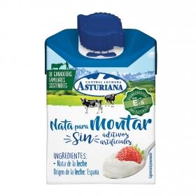 Nata para montar Central Lechera Asturiana 200 ml.