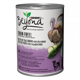 Comida húmeda de pavo para perro Beyond Grain Free 400 g.