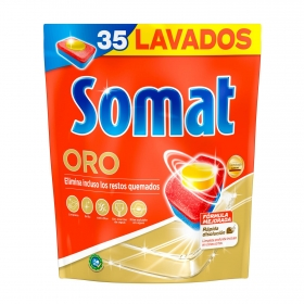 Lavavajillas máquina en pastillas Somat 30 ud.