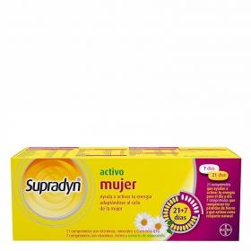 Comprimidos activo mujer Supradyn 28 comprimidos.