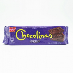 Galletas de chocolate Chocolinas Bagley 170 g.