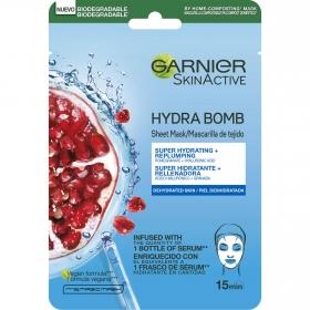 Mascarilla hidratante revitalizante Hydra Bomb Garnier-Skin Active 1 ud.
