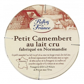 Queso petit camembert Reflets de France pieza 150 g