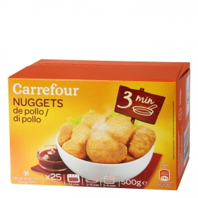 Nuggets pollo Carrefour 500 g.