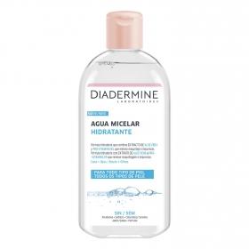 Agua micelar hidratante cara-ojos Diadermine 400 ml.