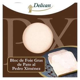 Bloc de foie gras de pato al Pedro Ximénez Delicass 40 g.