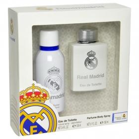 Estuche de colonia 100 ml. + desodorante 150 ml. Real Madrid 1 ud.
