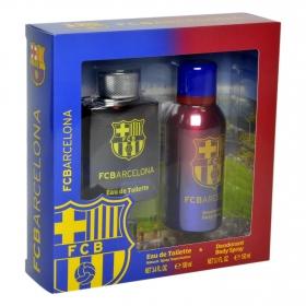 Estuche de colonia 100 ml. + desodorante 150 ml. Barcelona 1 ud.