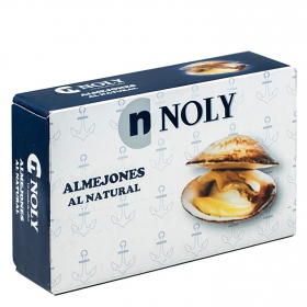 Almejones al natural Noly 63 g.