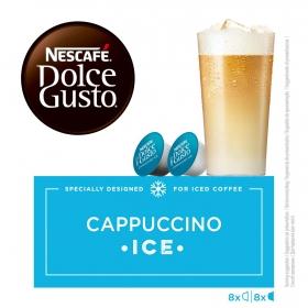 Café cappuccino ice en cápsulas Nescafé Dolce Gusto 8 unidades de 27 g.
