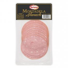 Mortadela ahumada Serrano sin gluten y sin lactosa 125 g.