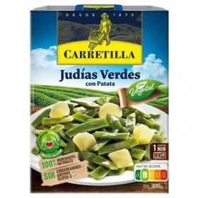 Judias verdes con patatas Carretilla 240 g.