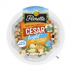 Bowl de ensalada cesar light envase 205 g