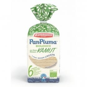 Pan de molde sin corteza ecológico Pan Piuma 300 g.