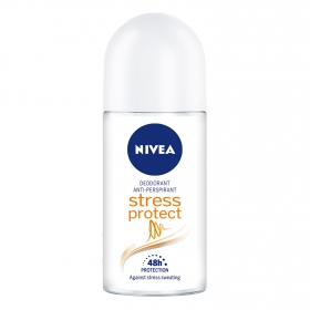 Desodorante roll-on Stress Protect Nivea 50 ml.