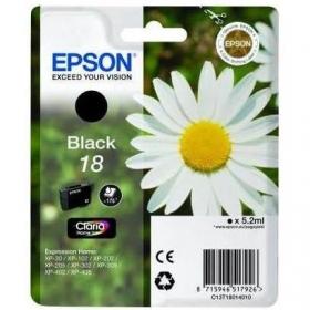 Cartucho de Tinta Epson 18 Claria - Negro