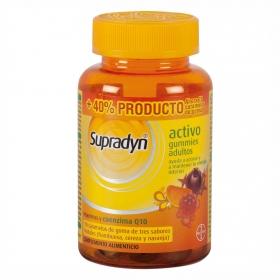 Vitaminas y coenzima Q10 gummies adultos Supradyn 50 ud.