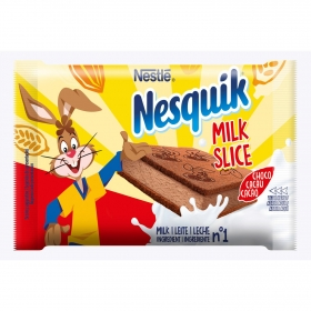Snack de chocolate Nesquik pack de 4 unidades de 26 g.