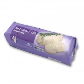 Rulo de cabra madurado No Lactosa Carrefour 180 g