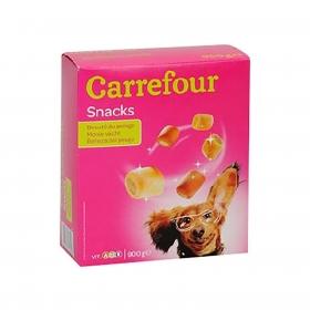 Carrefour Snacks Galletas Rellenas para Perro 900g